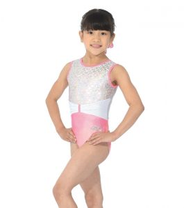 Princess Sleeveless Gymnastic Leotard