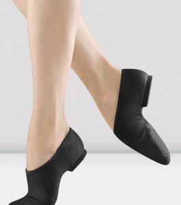 Bloch Black Leather Split Sole Jazz Shoe